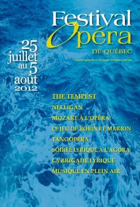 Visuel, Festival d'Opéra 2012