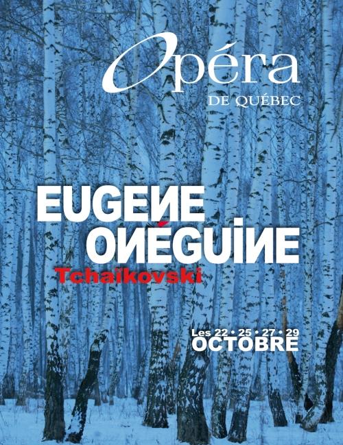 Visuel, Eugène Onéguine