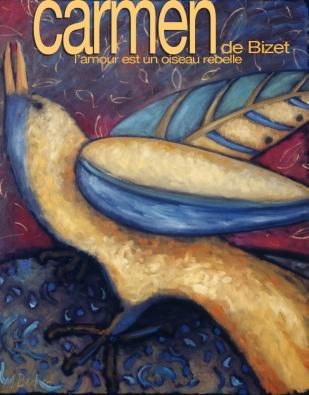 Maquette Carmen de Bizet