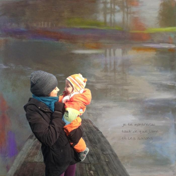 Amélie et Jude pour la fête des mères
